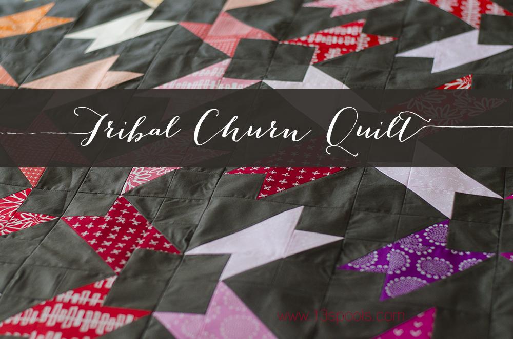 tribal churn quilt 3