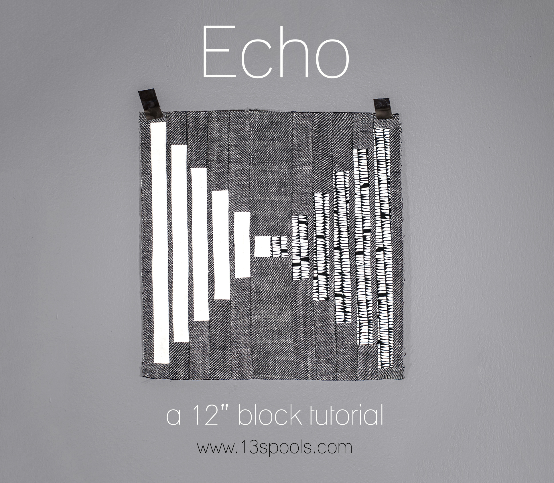 Echo Quilt Block Tutorial