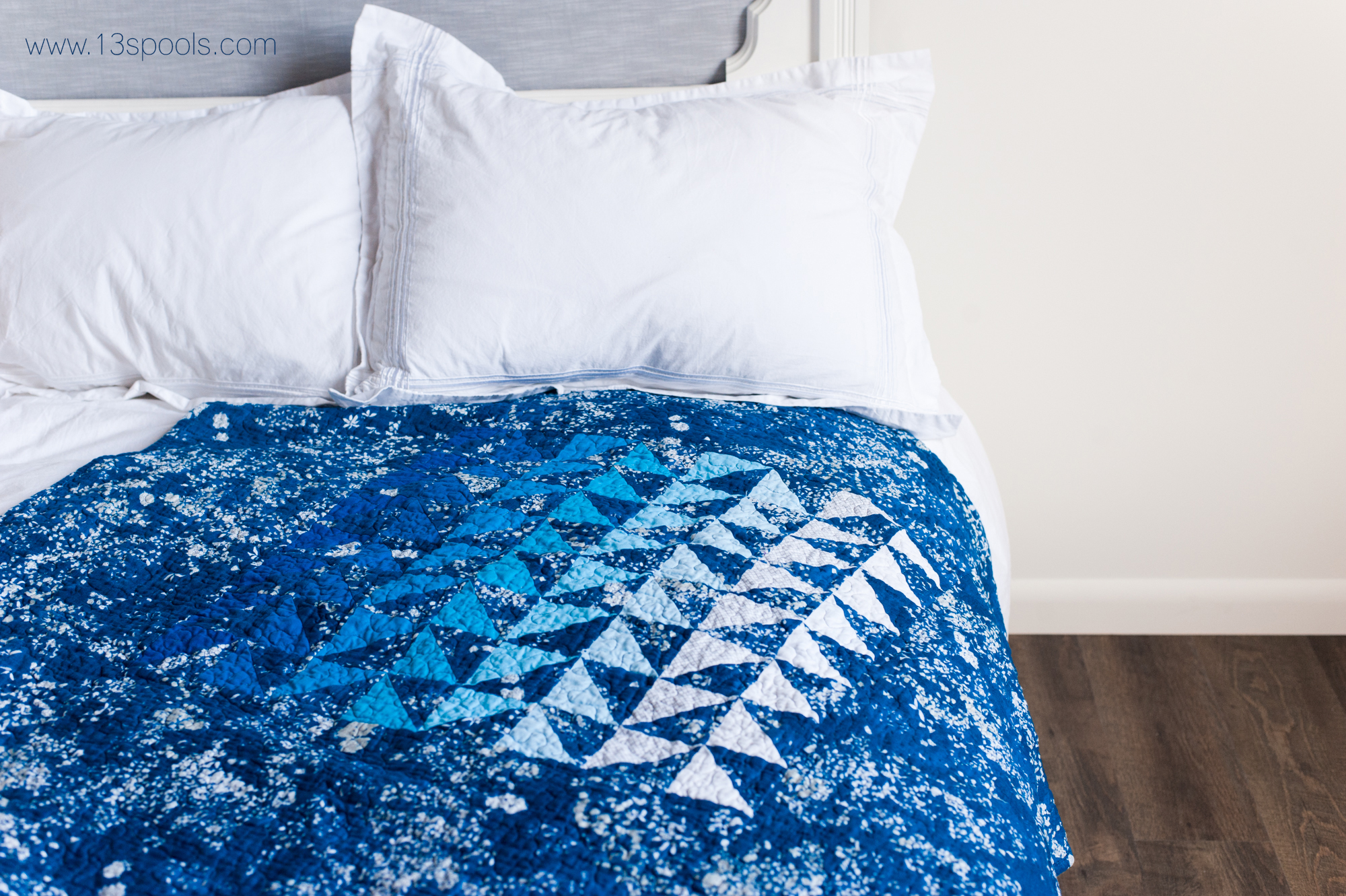 blue baby quilt 6