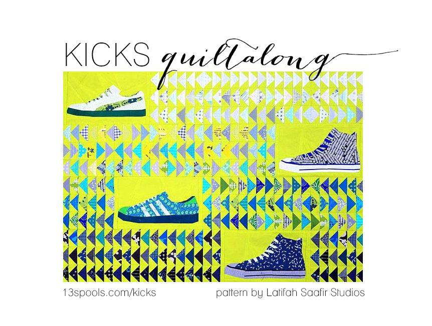 kicks quiltalong