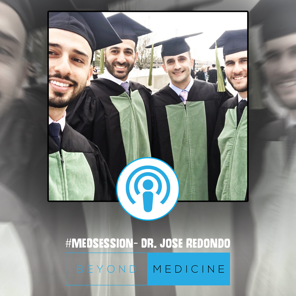 #MEDsession - This episode is with one of my best friends and medical school roommate, Jose Redondo. We talk about life as students and the struggles that medical students face. We talk about some things we personally went through including board exams, panic attacks and how we coped with stress.