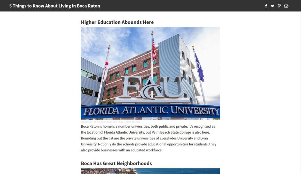 FAU entrance (Neighborhoods.com)