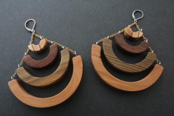 The CHERYL Earrings x Beneath the Bark - $70