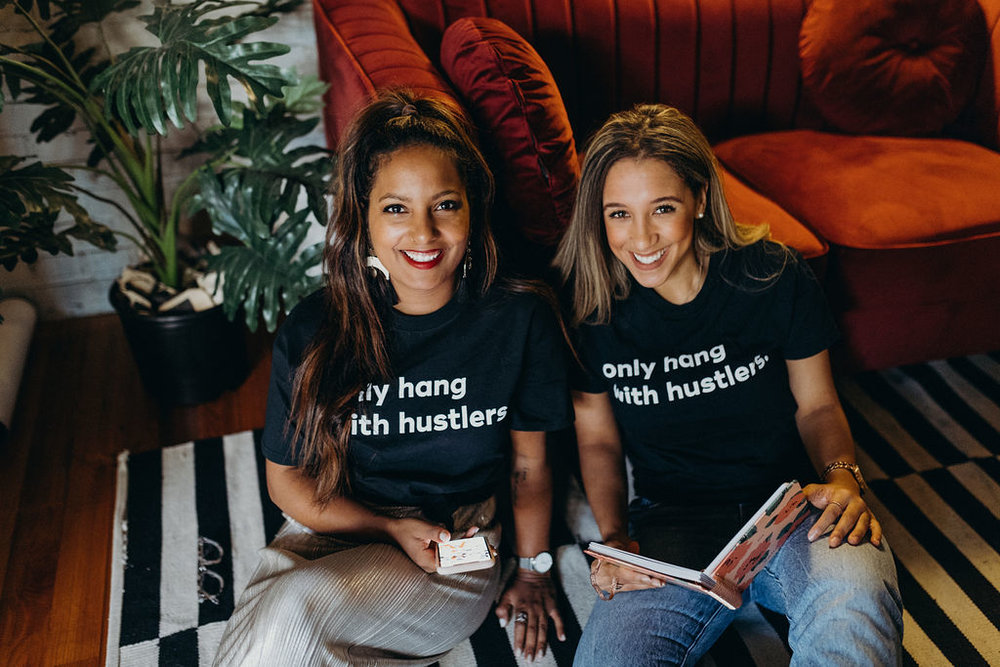 Only Hang with Hustlers Tshirt x Power Pump Girls, Inc. - $20
