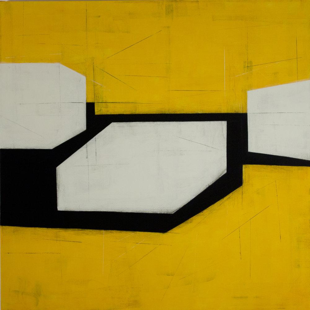 Drift E1 | 2014 | oil on canvas | 50 x 50 inches