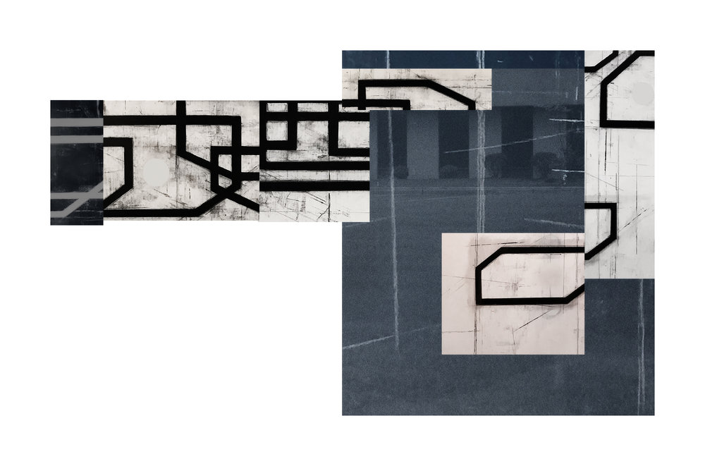Exurban Archipelago P1 | 2018 | archival pigment print | 14.5 x 24 inches