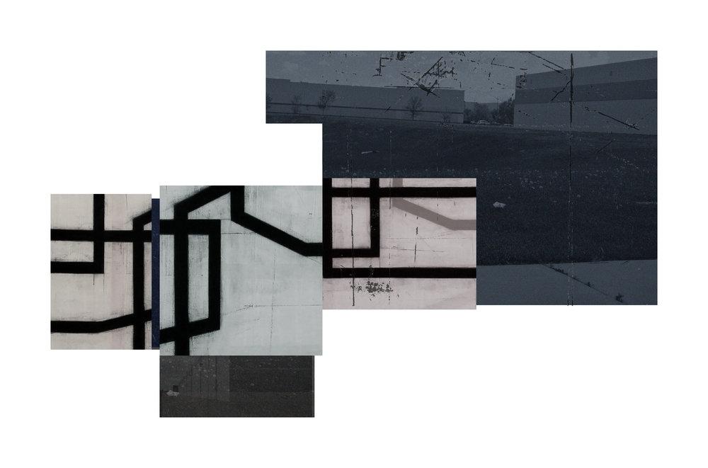 Exurban Archipelago P2 | 2018 | archival pigment print | 14.5 x 24 inches
