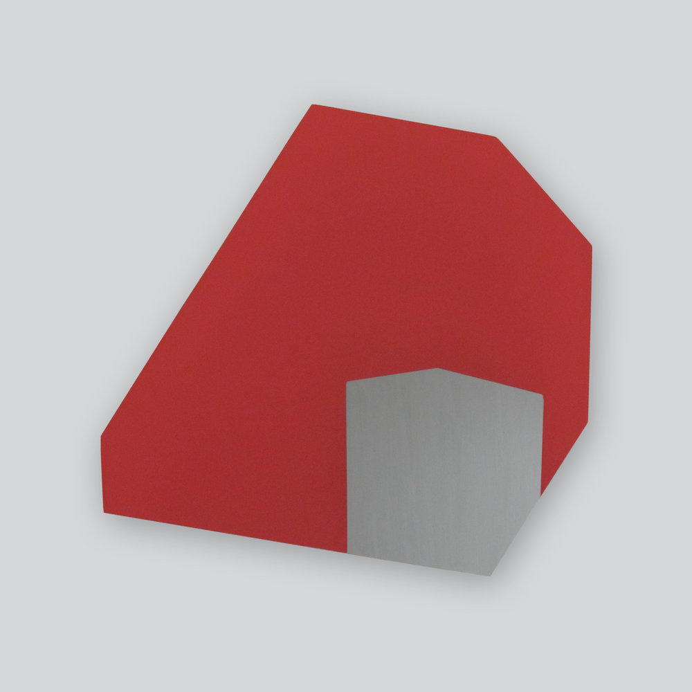 Nested Forms 8  |  2011  |  acrylic on plexiglass  |  13 x 13 inches
