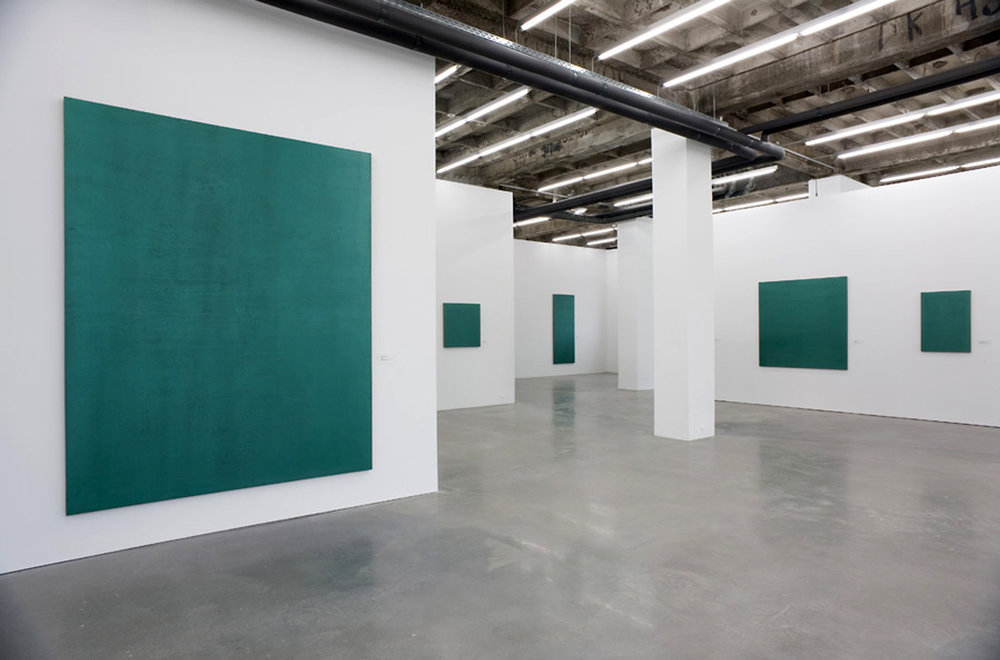 Figure 16: Stephen Prina: Monochrome Paintings