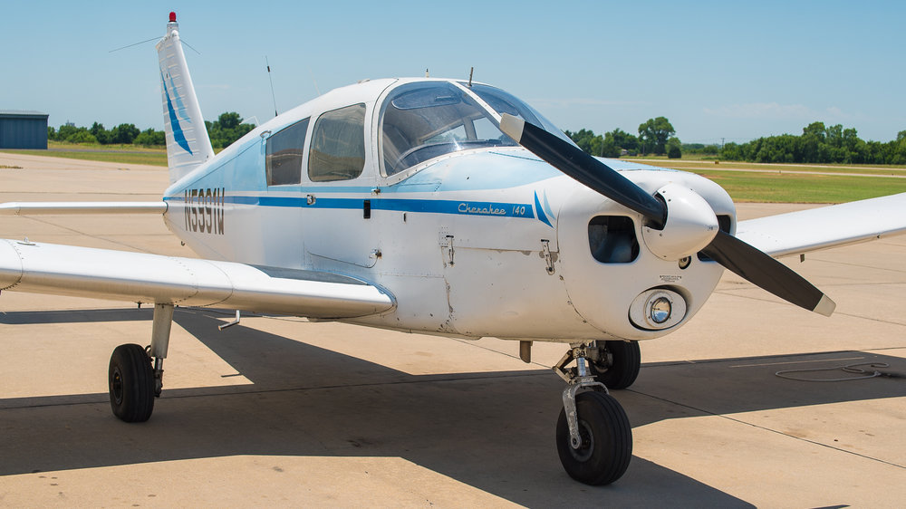 N5991W - N5991W is a 1968 Piper Cherokee 140 equipped with Dual Garmin G5s along with a Garmin 430W GPS. It's one of our primary airplanes for instrument ratings.  $149 WET