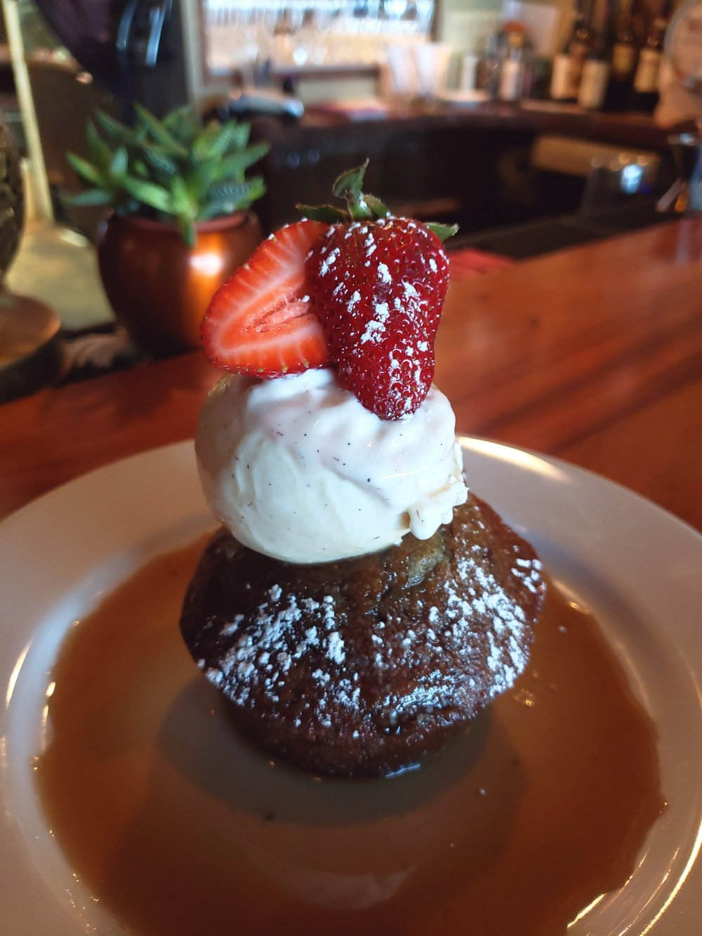 Figgy Toffee Pudding Cake at Bettola Bistro