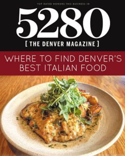 5280's Best Italian including Bettola Bistro