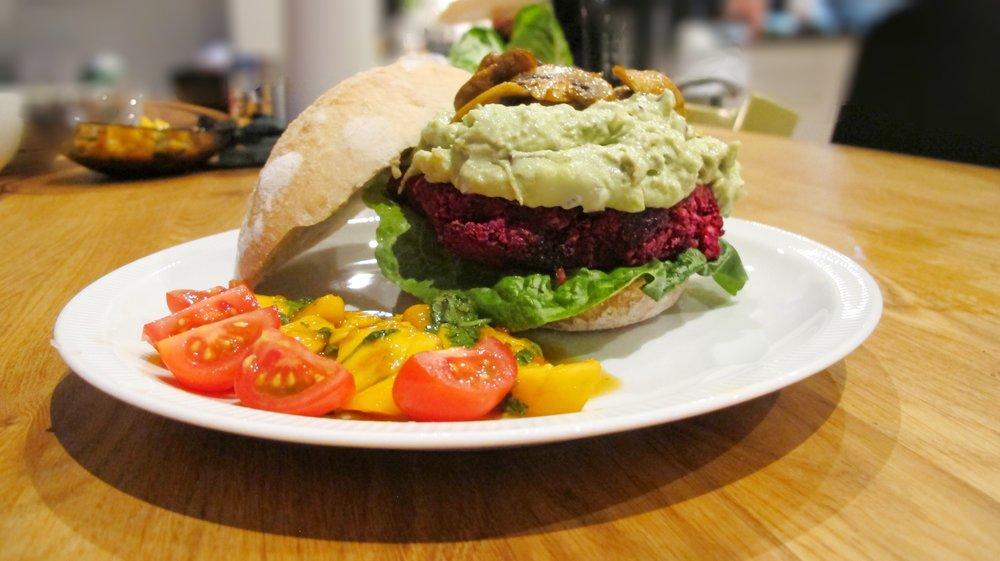 Rodbett Burger Beetroot Burger Tina Schei
