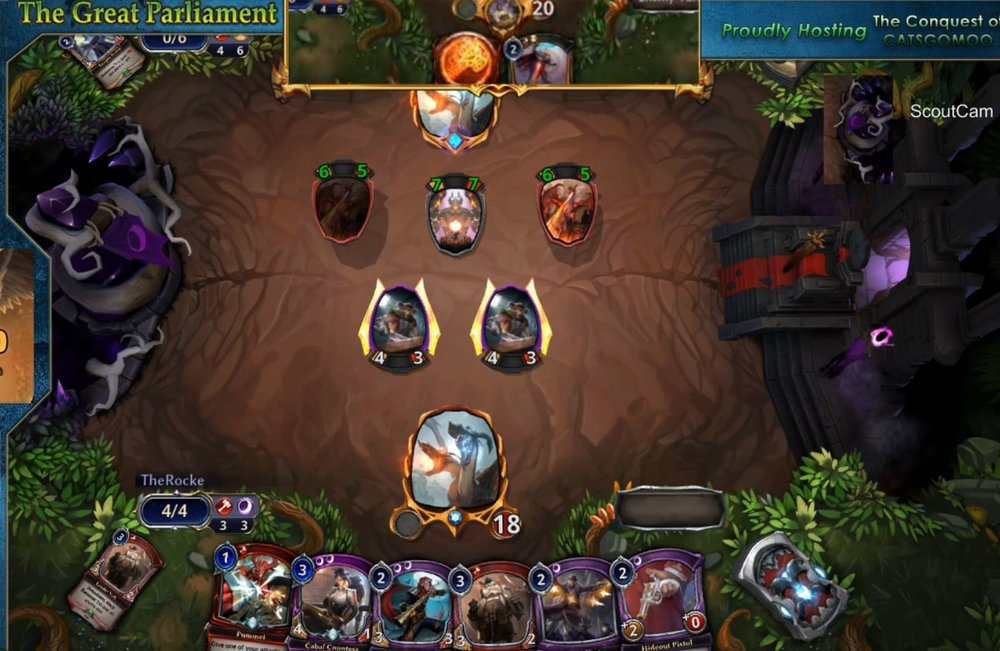 HINT................................. You might have to rely on getting a lucky topdeck.