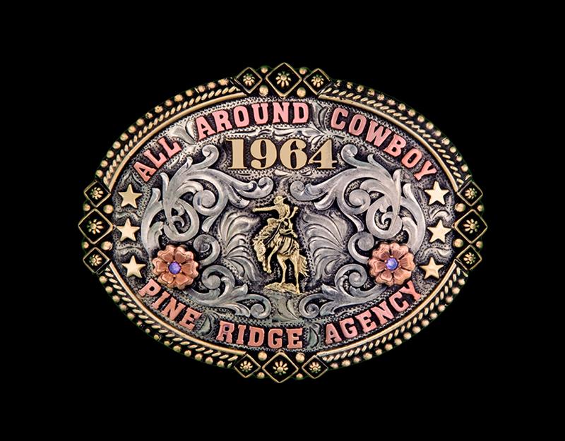 Buckle No. 5 - German Silver Antiqued $210Sterling Overlay Antiqued $335Solid Sterling Antiqued $550