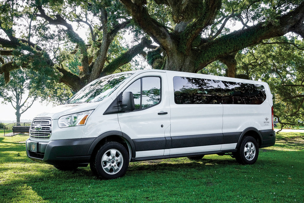 Our 11-Passenger Van - Travel in style in our spacious 11-Passenger Van. As always, your driver will make sure you arrive on time (and in style). Need some extra storage space? Let us know, and we will provide additional storage.