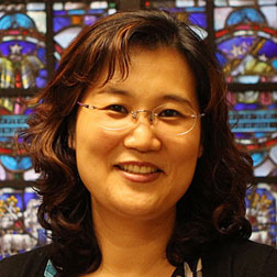 HYE-SOOK JUNGChurch Organist - Hye-Sook Jung was born and grew up in Seoul, South Korea. She had grown up in a strict Presbyterian family in Korea. Her father was an elder for many years at their church and she began to serve as a church pianist and organist when she was in 5th grade. In 1999 she moved to the USA with her husband to pursue their advanced degrees. Hye-Sook is currently the Instrumental Director at Indian Springs School where she teaches private piano lessons, AP Music Theory, Music Ensembles and accompanies the choir. She has previously served as an Assistant Professor of Music at Stillman College in Tuscaloosa, Alabama for nine years, and an organist/pianist at Northport United Methodist Church for fourteen years. She received her Bachelor of Music degree of Piano Performance at HanYang University, and her Master of Music Degree of Piano Accompanying from Sungshin University in South Korea. Hye-Sook completed her Doctoral Degree from The University of Alabama where she was a student of the late Amanda Penick. During her entire study at the University of Alabama, she was a recipient of the Narramore Music Scholar Award, which is the most prestigious fellowship at the School of Music. She is very happy to be a part of the First Presbyterian church.