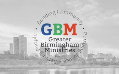 Greater Birmingham Ministries - For over 40 years, Greater Birmingham Ministries (GBM) has worked to meet people's emergency needs while also pursuing social and economic justice for all people in our city. First Presbyterian Church has an historic commitment and involvement in this ecumenical and interfaith organization.Visit Website