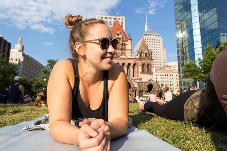 Yoga Hub Boston Yoga Day 18