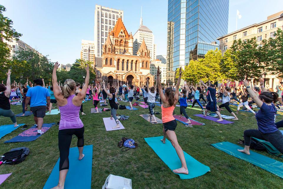 Yoga Day Boston 2018