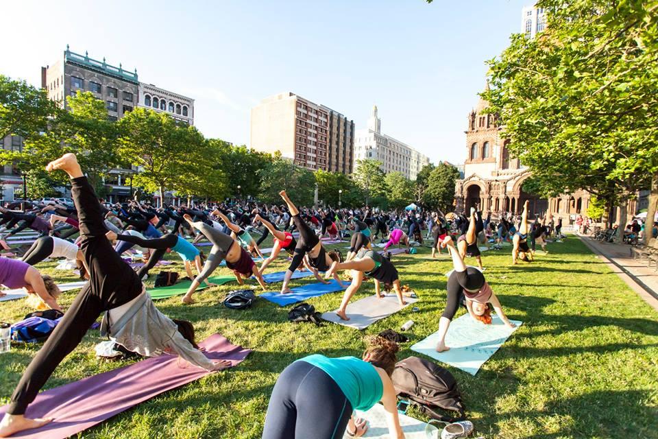 International Yoga Day Boston