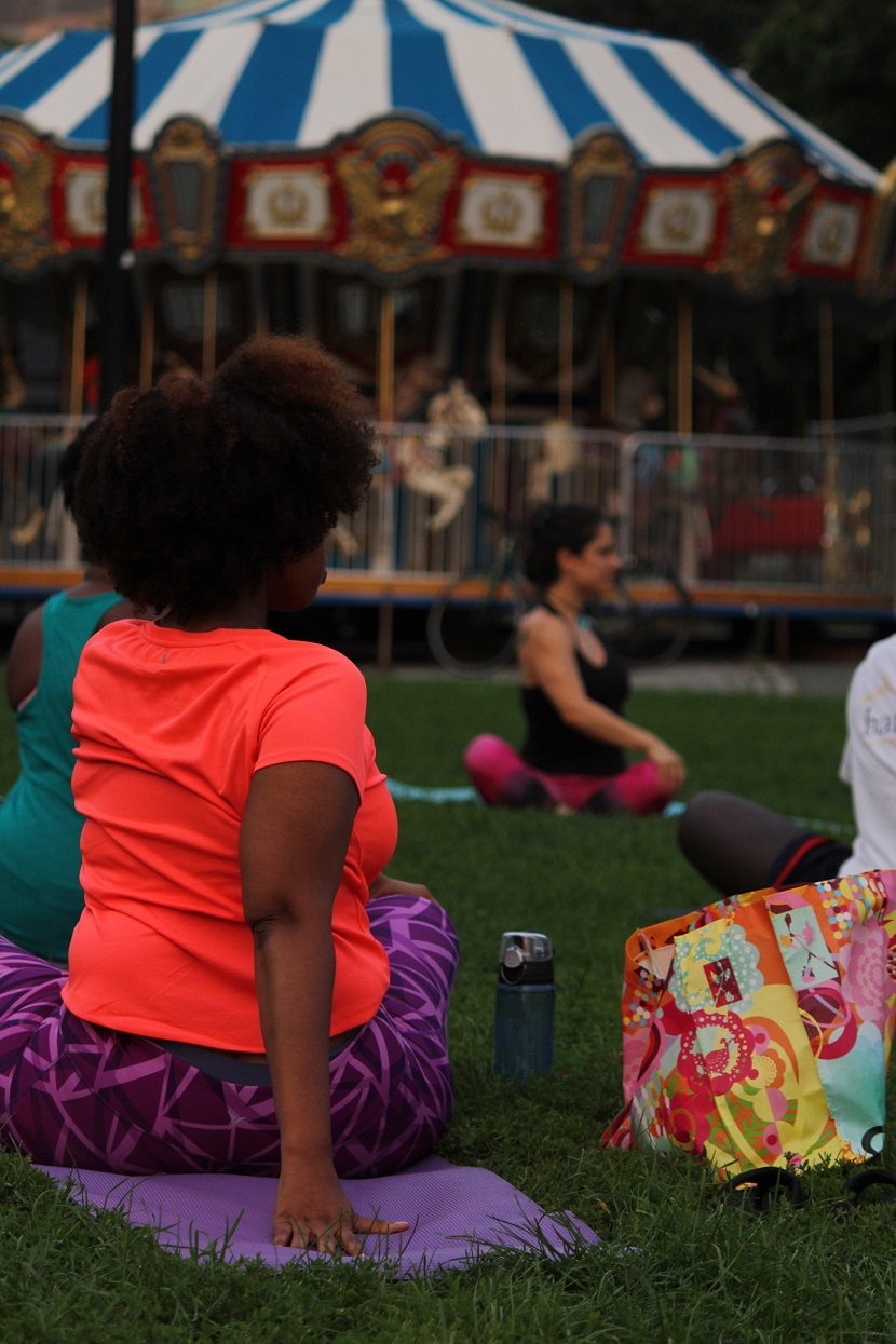 YogaHub Donation Based Yoga Boston Commons