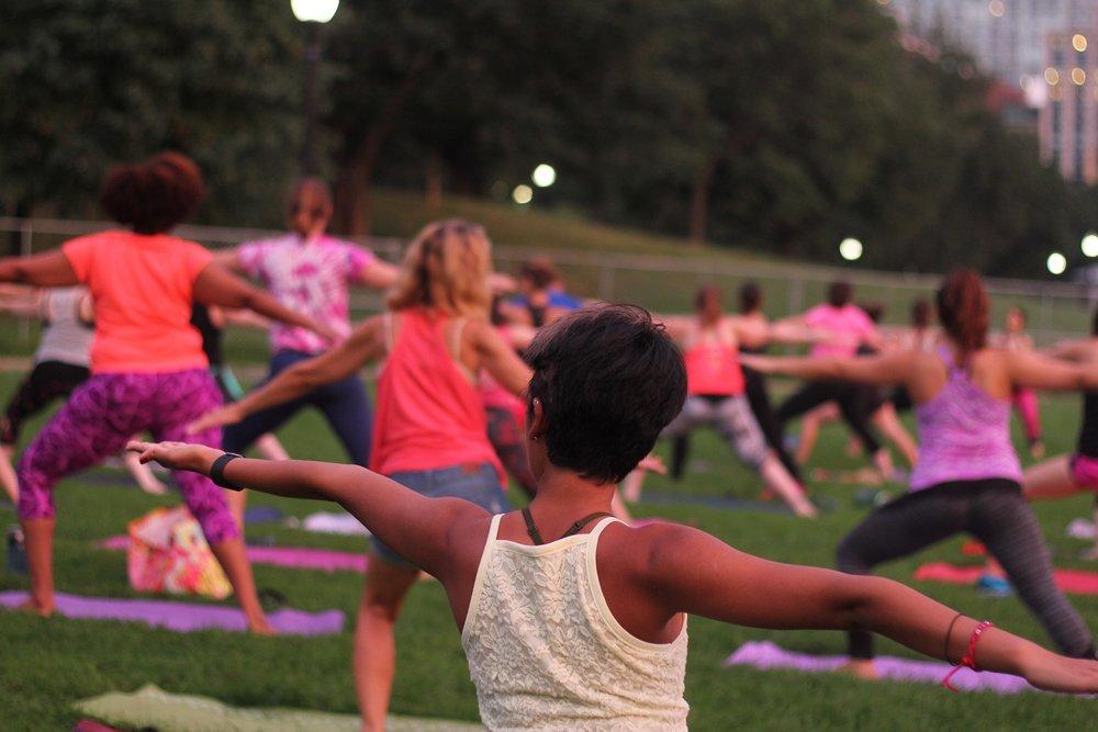 YogaHub Donation Based Yoga Boston Common
