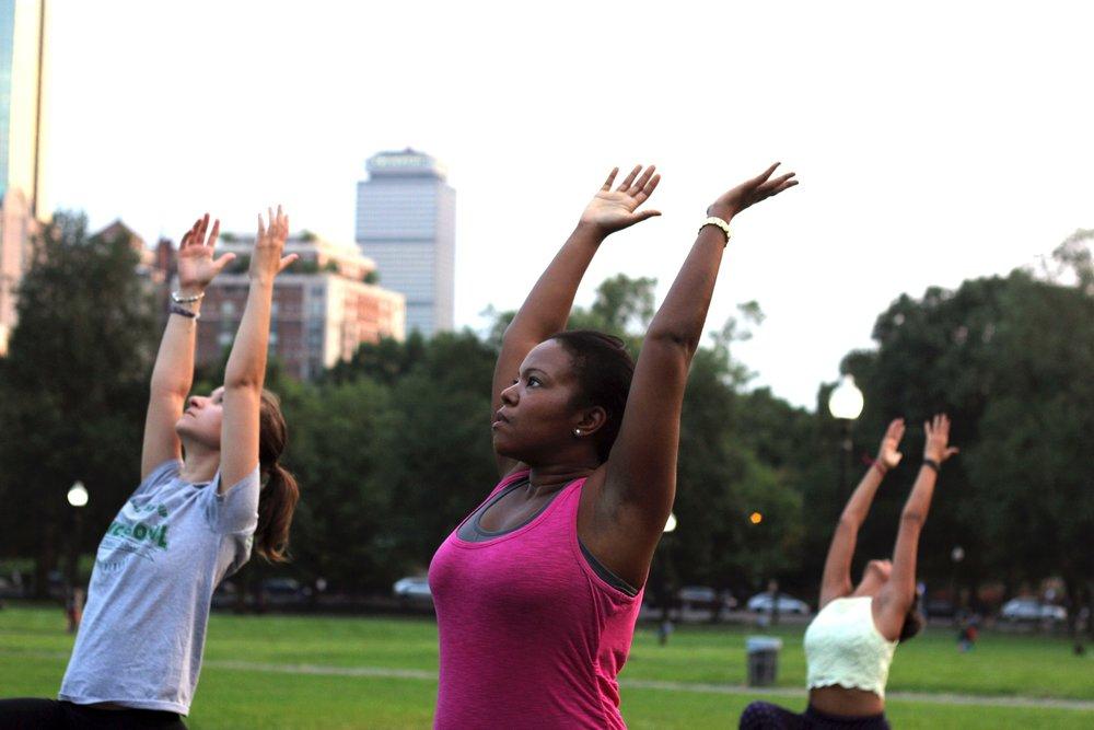 Yoga Against Cancer @Boston Common