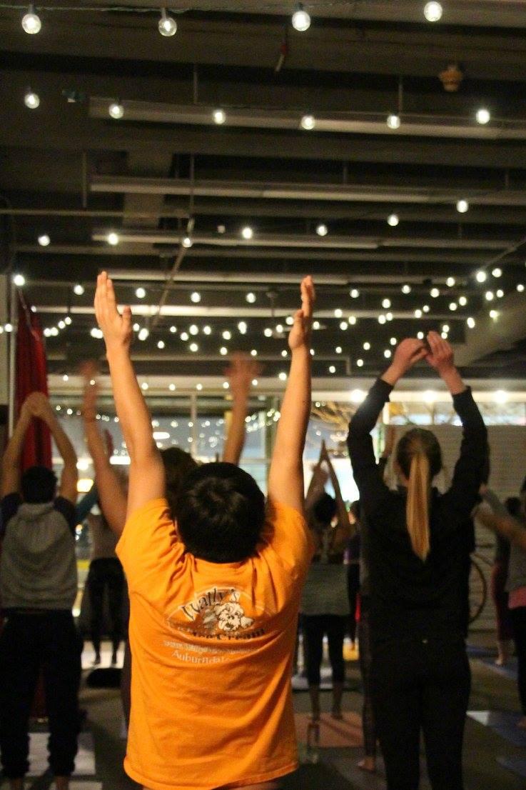 Yoga Festivus YogaHub Pop Allston