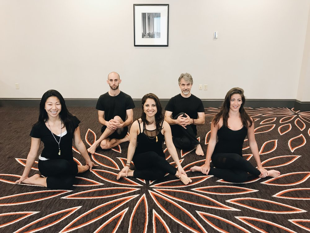 """""""Founded by ONE, open to ALL."""" - YogaHub is Boston's yoga network, which provides professional development and ongoing education for instructors, as well as corporate wellness services for organizations."""
