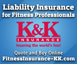 Liability Insurance for Fitness Professionals - Click here for more information!