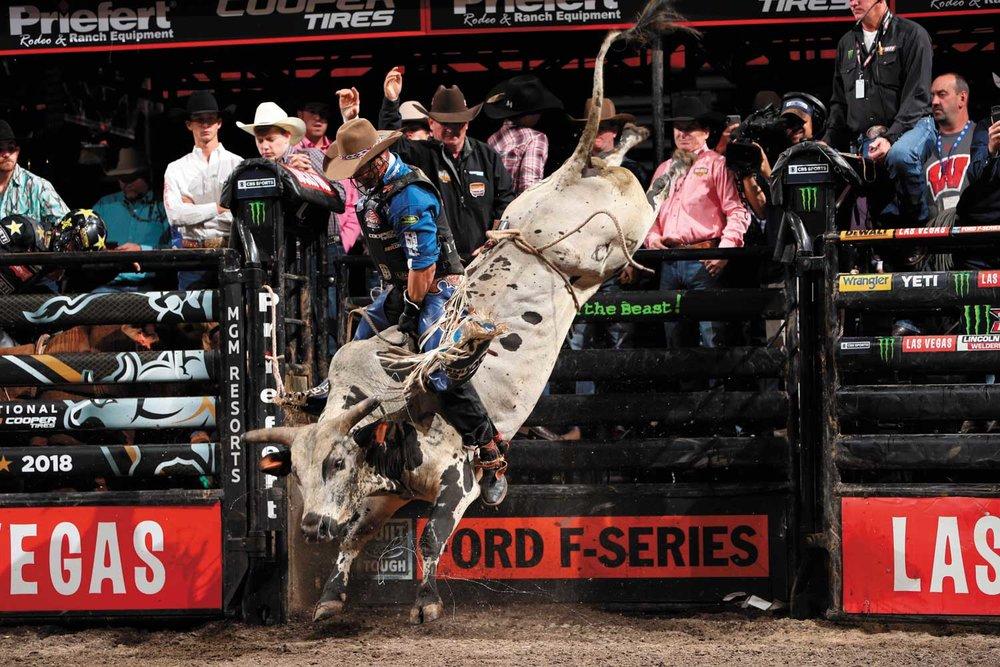Professional Bull Rider Cody Nance