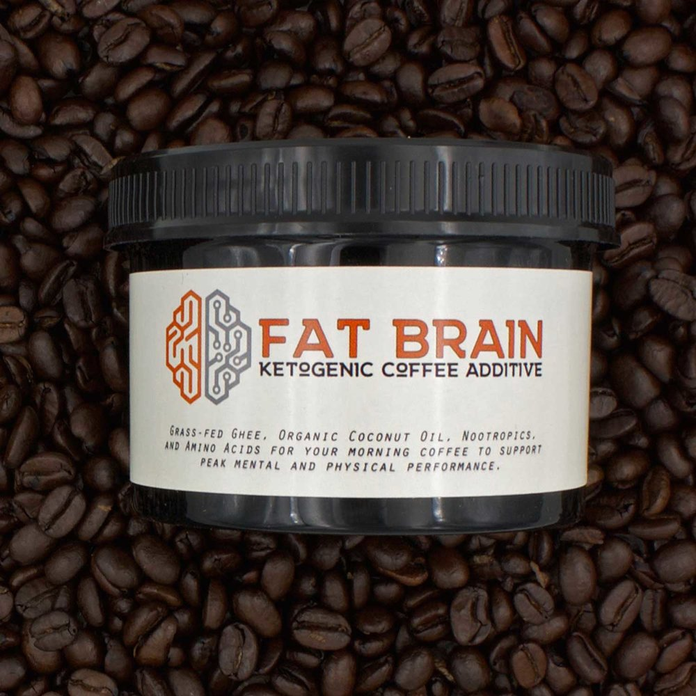 Fat Brain is the first ready-to-use ketogenic coffee additive  LEARN MORE