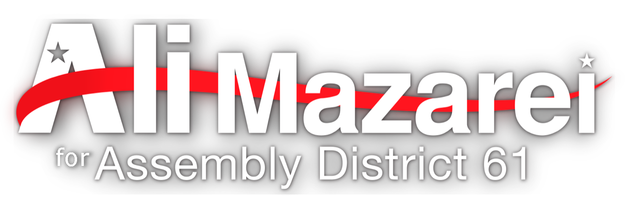 Ali Mazarei For Assembly District 61