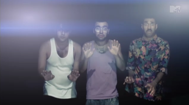 Das Racist - 'Michael Jackson' (music video)  a million dollars … yah feel me?   Watch it  here .