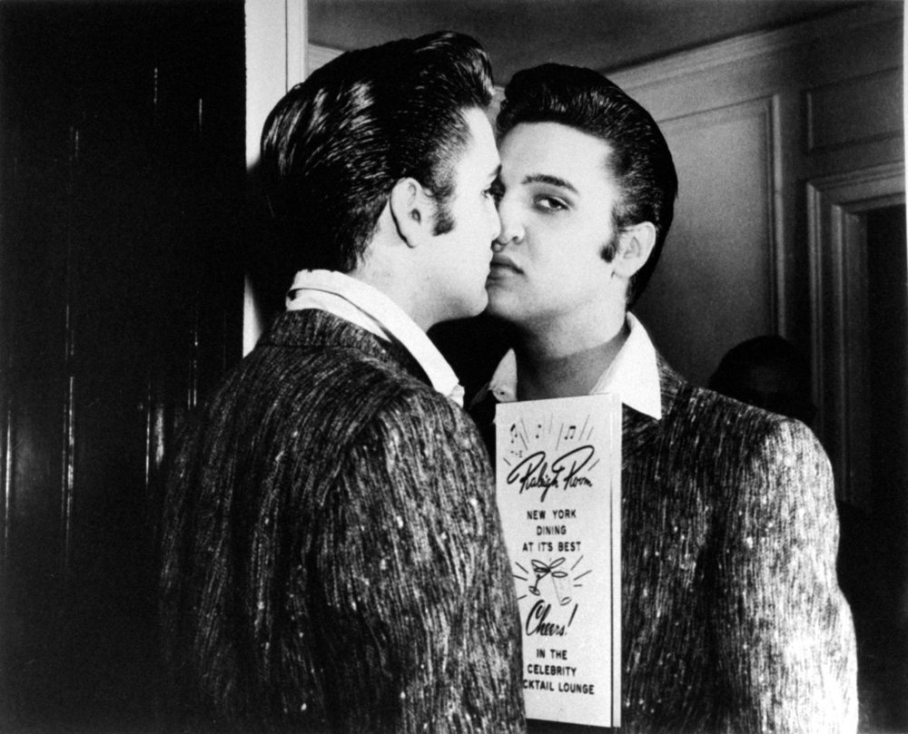 suicideblonde :     Elvis Presley in 1957     The King