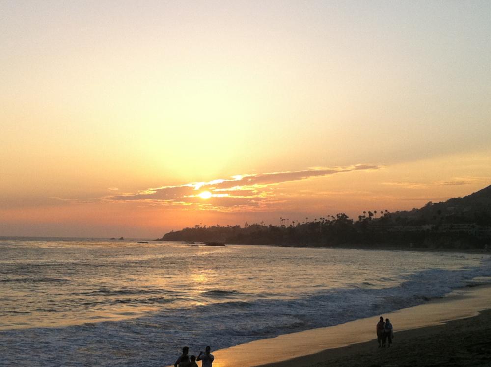 Laguna Sunset pretty pretty