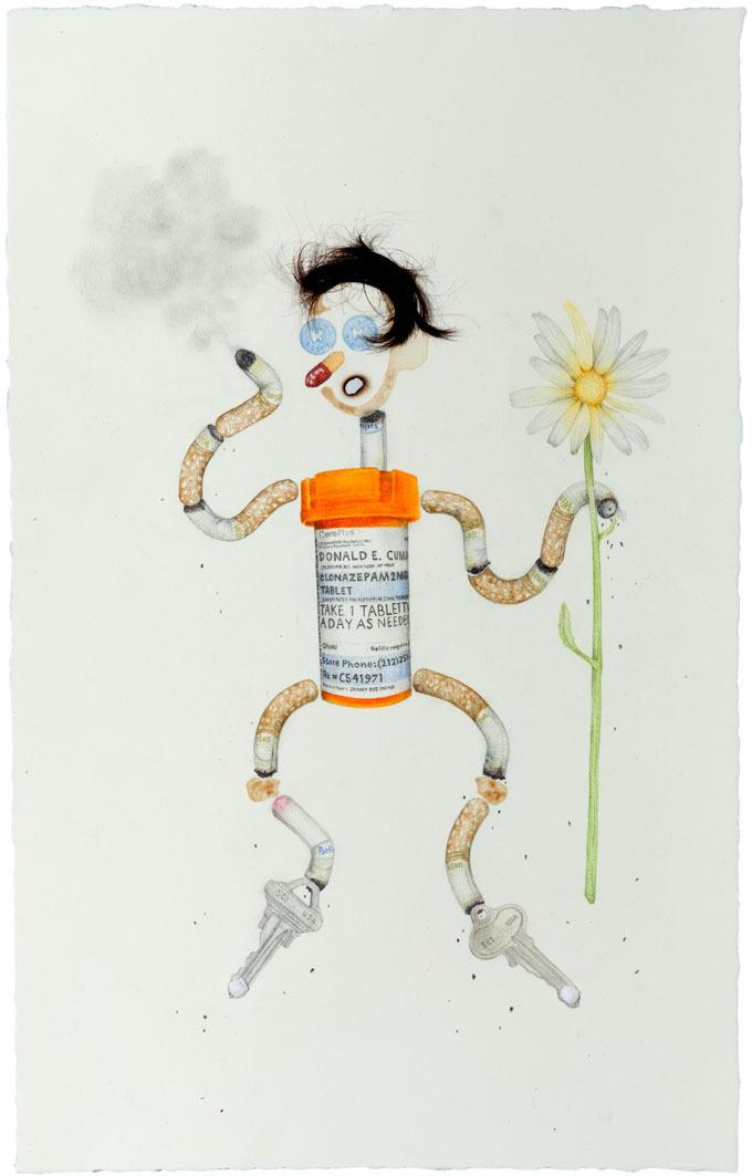 Aurel Schmidt ,  Drug Voodoo Doll 4