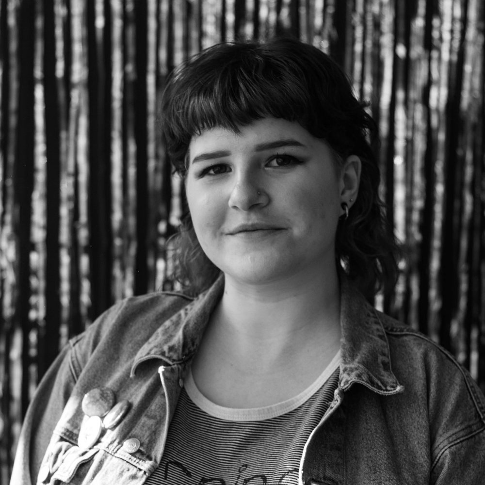 Siobhan martin - A hard-working artist and technical producer, Siobhan's work supporting student and emergent theatre-makers is continued in her work ensuring this festival is a valuable space for young creatives.