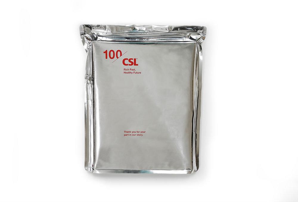 CSL Commonwealth Serum Laboratories Book Wrapping