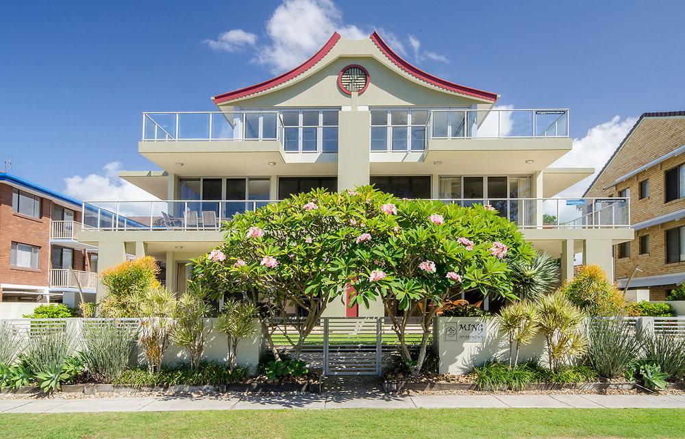 Luxury Beachfront Apartment   Ming Apartments, Kingscliff NSW Australia