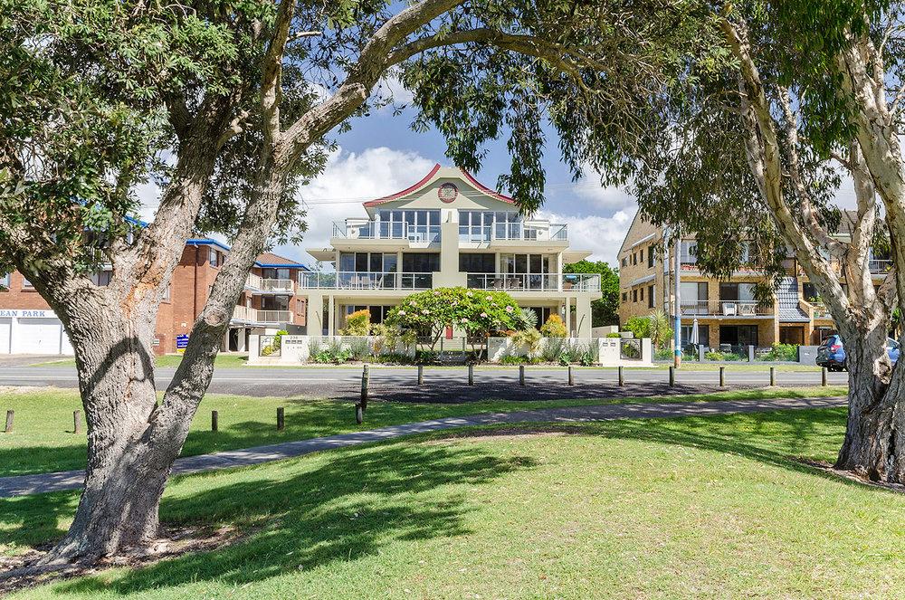 Holiday apartment near playground   Ming Apartments, Kingscliff NSW Australia