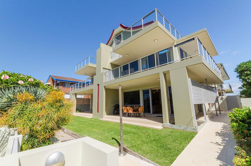 Modern apartment style   Ming Apartments, Kingscliff NSW Australia