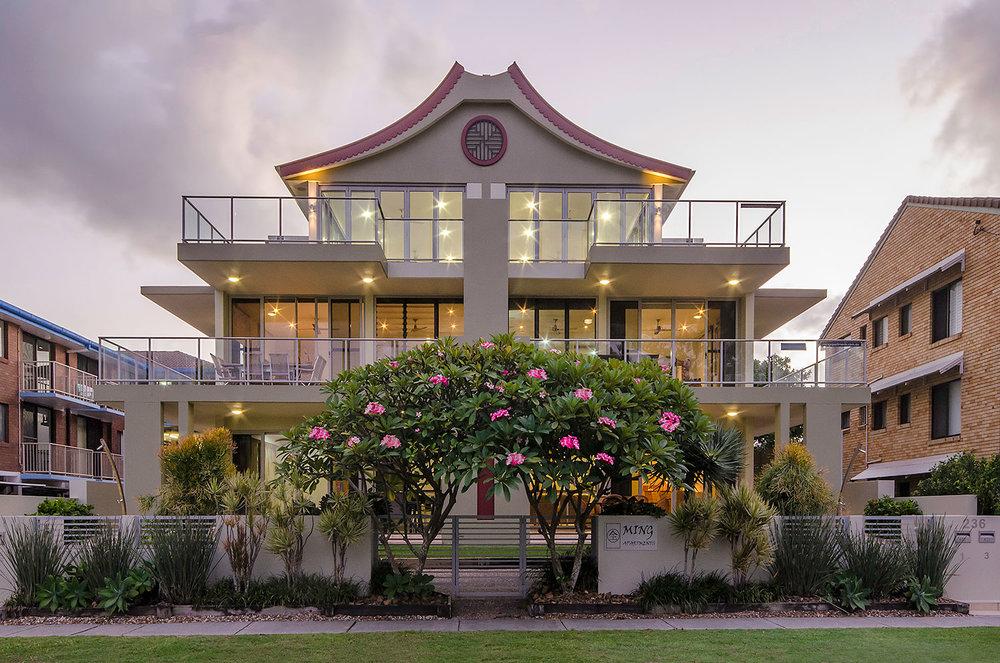 Stylish holiday apartment   Ming Apartments, Kingscliff NSW Australia