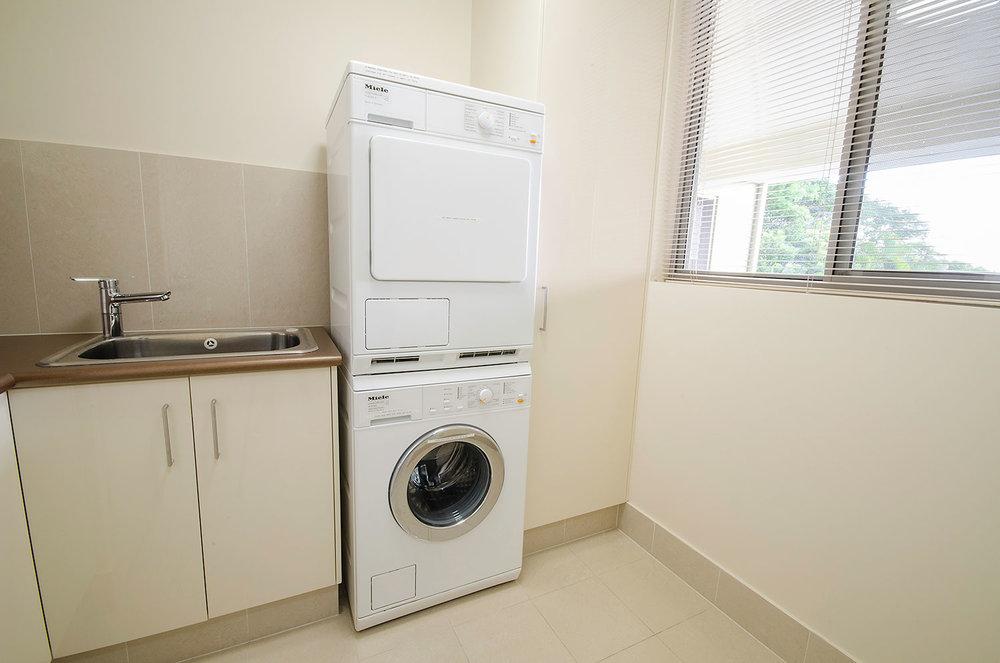 Laundry, Apartment One   Ming Apartments, Kingscliff NSW Australia