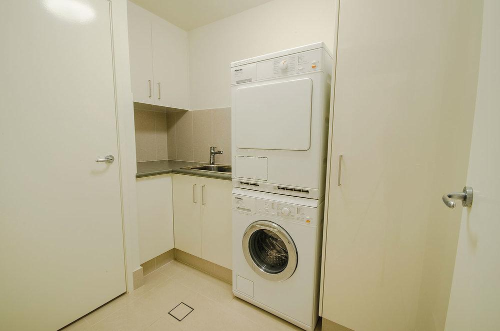 Spacious laundry, Apartment Three   Ming Apartments, Kingscliff NSW Australia