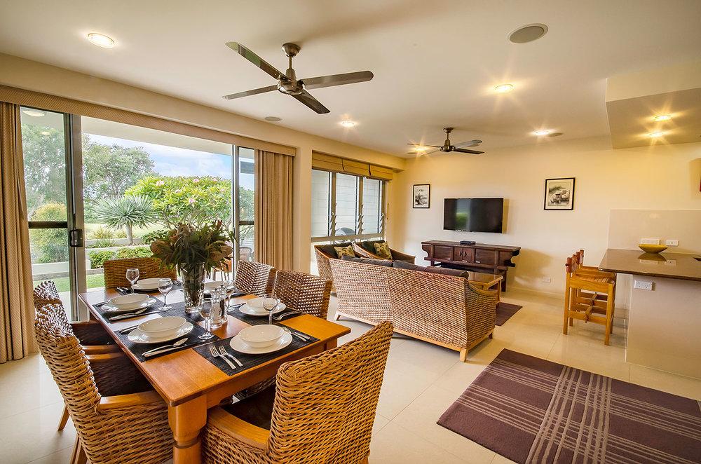 The Lounge, Apartment One | Ming Apartments, Kingscliff NSW Australia