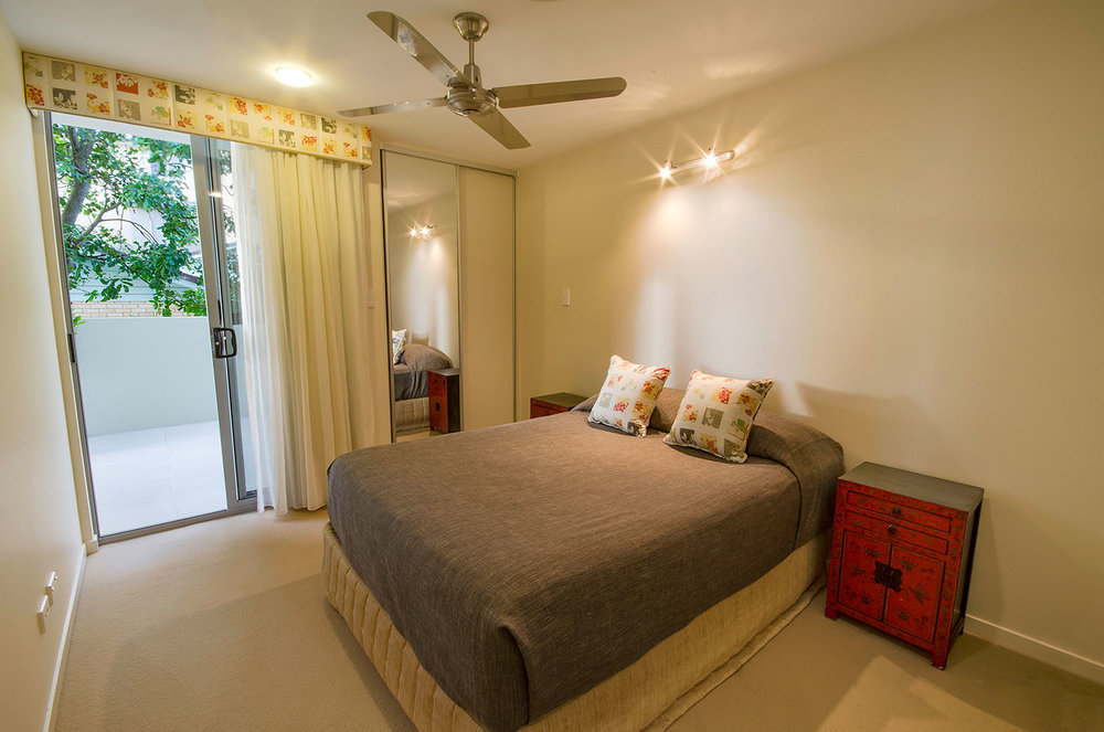 Bedroom, Apartment One | Ming Apartments, Kingscliff NSW Australia