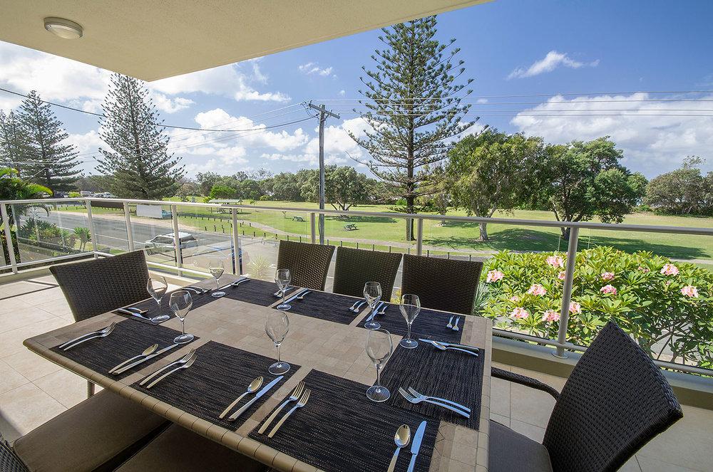 Beachfront foreshore views , Apartment Three | Ming Apartments, Kingscliff NSW Australia