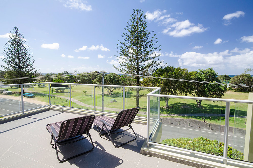 Panoramic rooftop views | Ming Apartments, Kingscliff NSW Australia